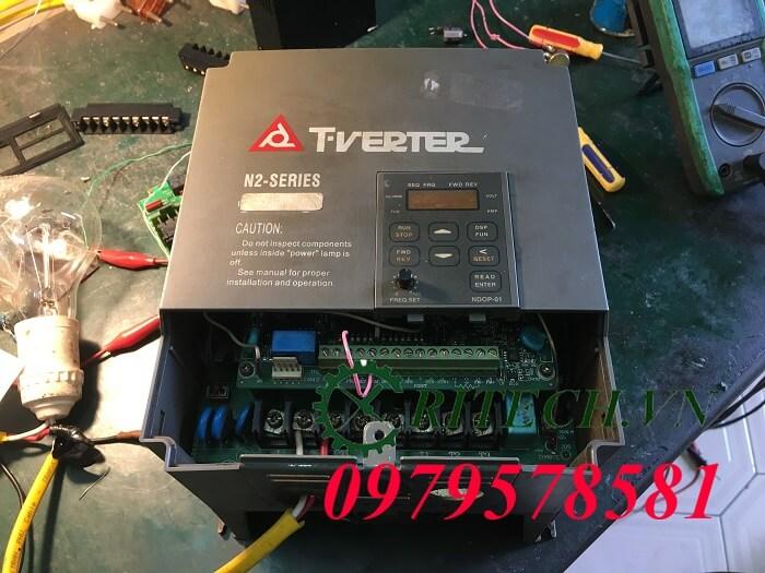 Hình ảnh sửa chữa biến tần Teco Tverter N2 Series
