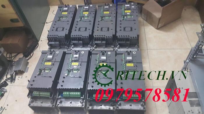 Hình ảnh sửa chữa biến tần ABB ACS510 và ACS550 số lượng lớn các tỉnh gửi về RITECH