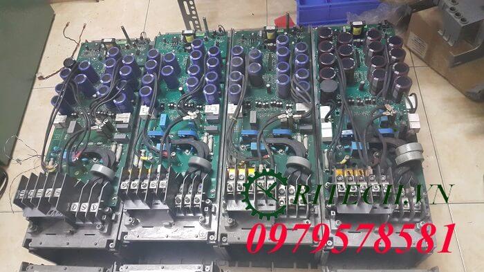 Hình ảnh tháo ra kiểm tra sửa chữa biến tần ABB ACS550 công suất 37kw và 45kw