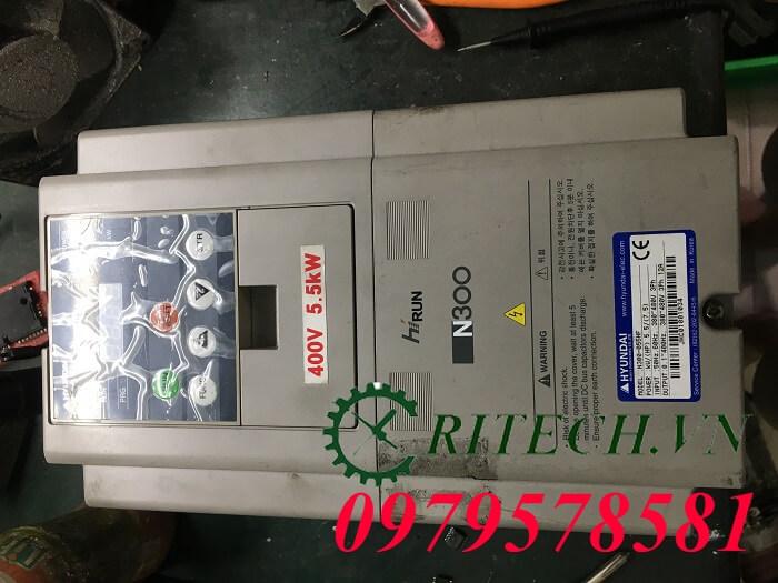 Hình ảnhsửa chữa biến tần Huyndai N300 lỗi E23.3