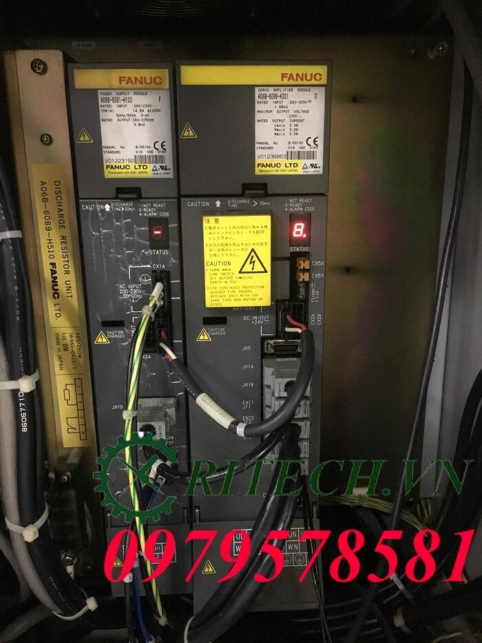 Hình ảnh sửa chữa bộ Servo Amplifier Fanuc A06B-6096-H301 bị lỗi số 8