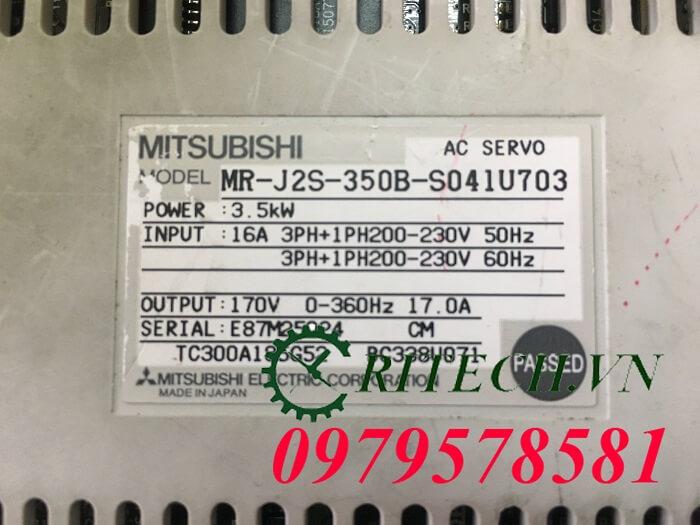 Sửa chữa servo mitsubishi Mr-j2s