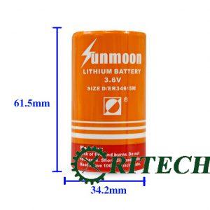 pin lithium ER34615M