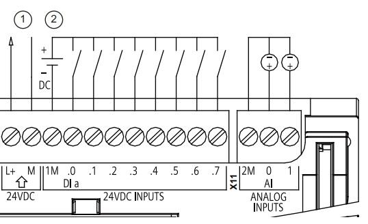 Hướng dẫn đấu dây tín hiệu ngõ vào plc siemens s7-1200