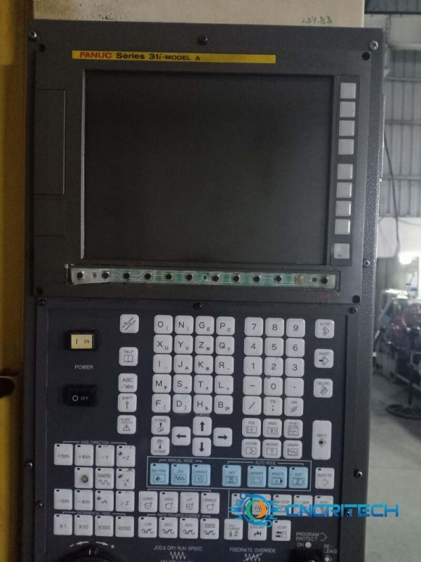 Màn hình máy CNC Fanuc hỏng bàn phím