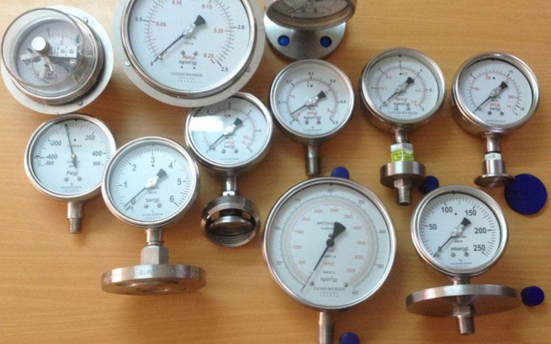 Minh họa đồng hồ đo áp suất