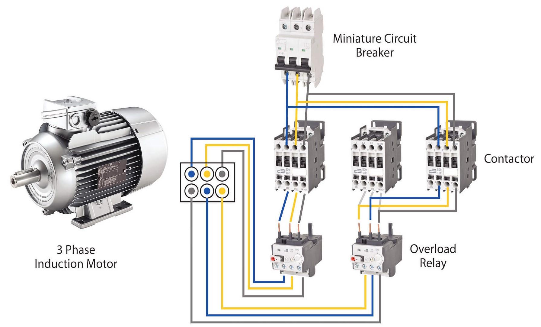 Chọn dòng điện phù hợp cho động cơ 3 pha