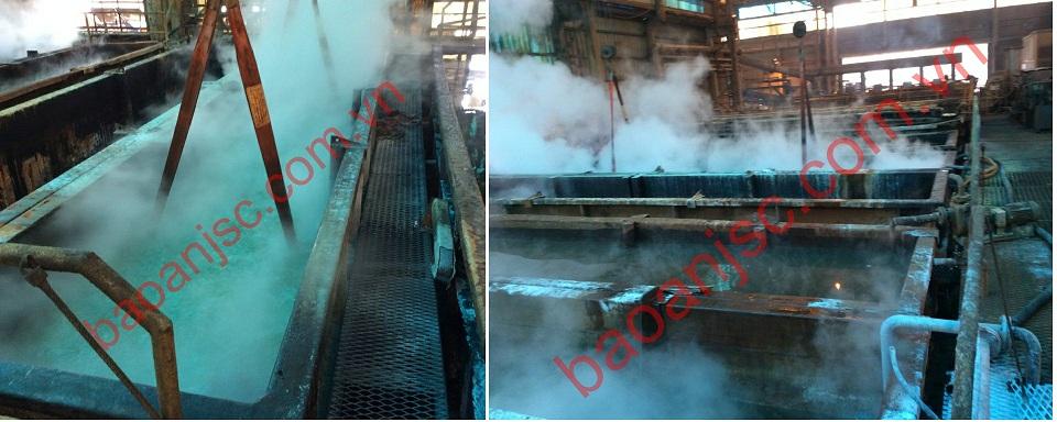 Hệ thống gia nhiệt sử dụng nồi hơi chưa tích hợp thiết bị trao đổi nhiệt dạng tấm