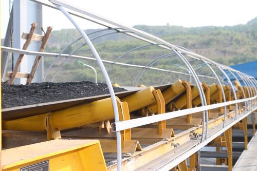 Ứng dụng băng tải trong ngành than