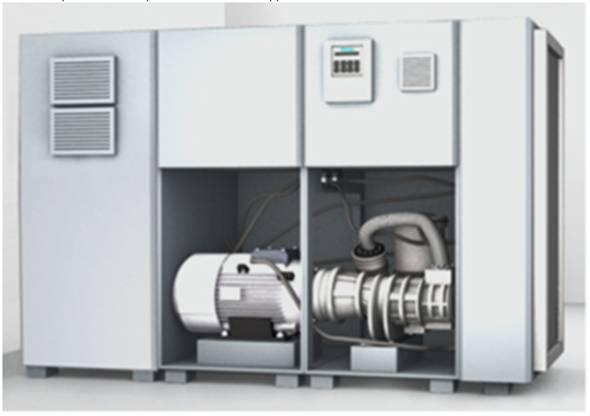Ứng dụng biến tần cho máy nén khí