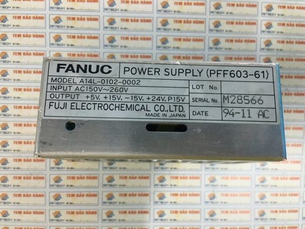 Fanuc-A14L-0102-0002