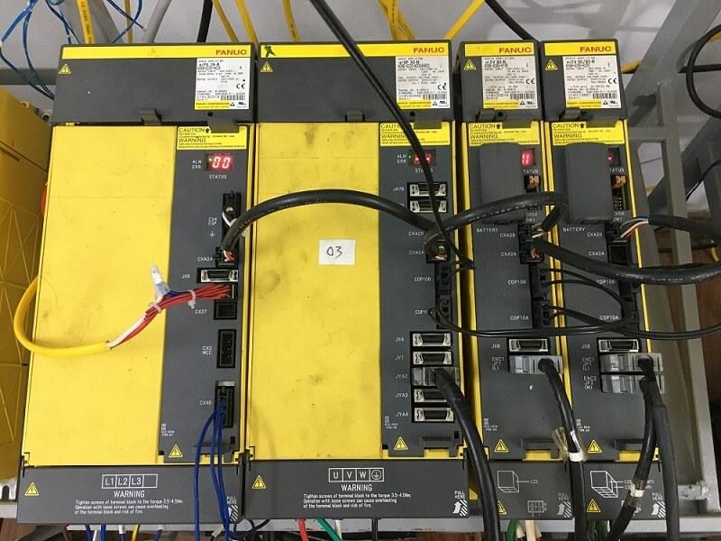 AMP Fanuc A06B-6240-H105 Alarm 11