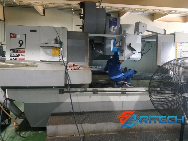 Sửa chữa máy CNC HAAS VF9