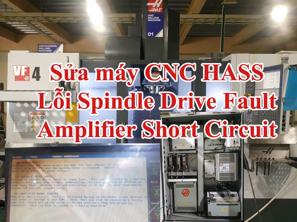 Sửa chữa máy CNC Haas vf4a