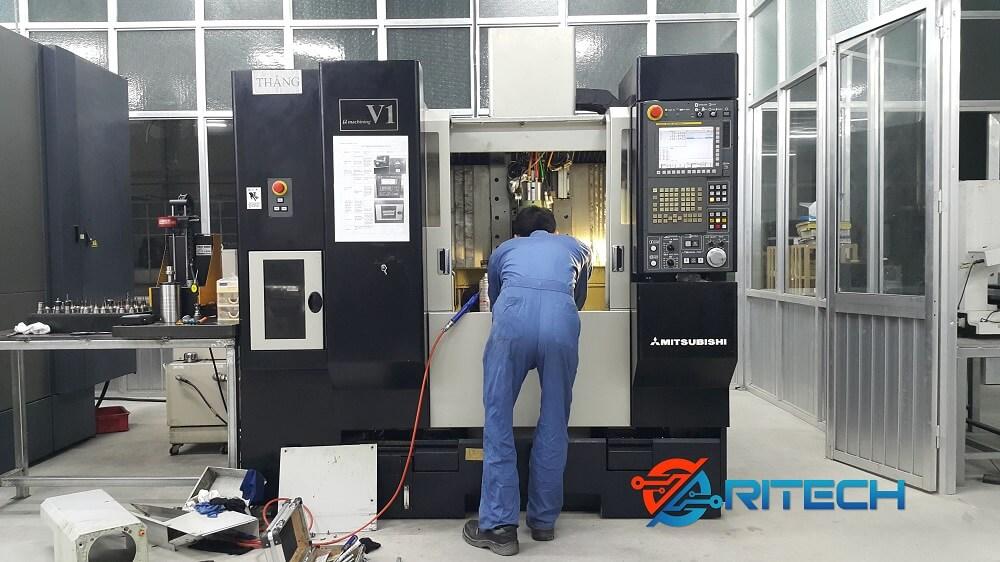 Sửa chữa máy phay CNC Mitsubishi