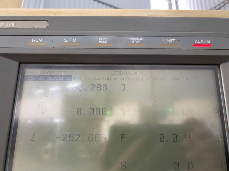 Sửa máy cnc okuma lỗi 1151